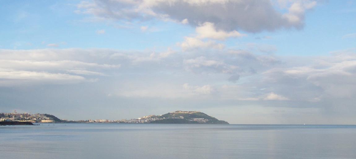 Ceuta vista desde Marruecos.